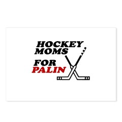 Hockey Moms for Palin Postcards (Package of 8)