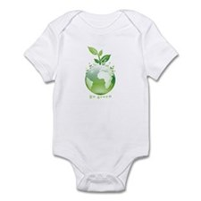 Green World Infant Bodysuit
