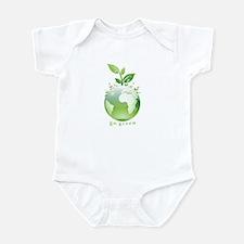 Green World Infant Bodysuit