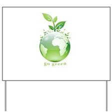 Green World Yard Sign