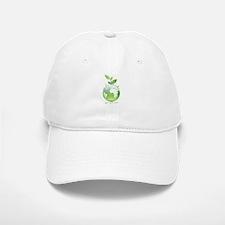 Green World Baseball Baseball Cap