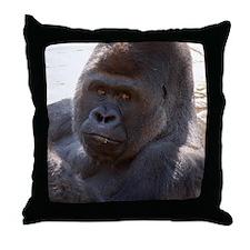 Gorilla 004 Throw Pillow