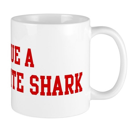 Rescue Great White Shark Mug