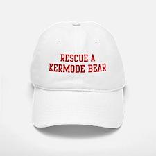 Rescue Kermode Bear Baseball Baseball Cap