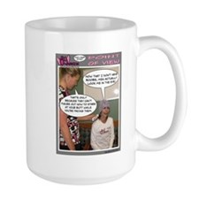 BC Warrior Comic Mug