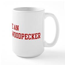 Rescue Ivory-Billed Woodpecke Mug