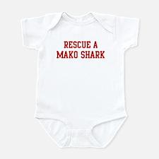 Rescue Mako Shark Infant Bodysuit