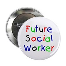 Future Social Worker Buttons (10 pack)