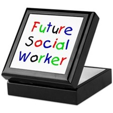 Future Social Worker Keepsake Box