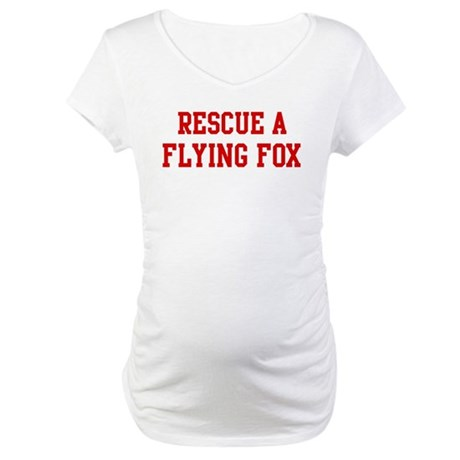 Rescue Flying Fox Maternity T-Shirt