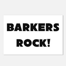 Barkers ROCK Postcards (Package of 8)