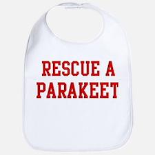 Rescue Parakeet Bib