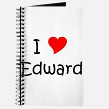 Unique I love edward Journal