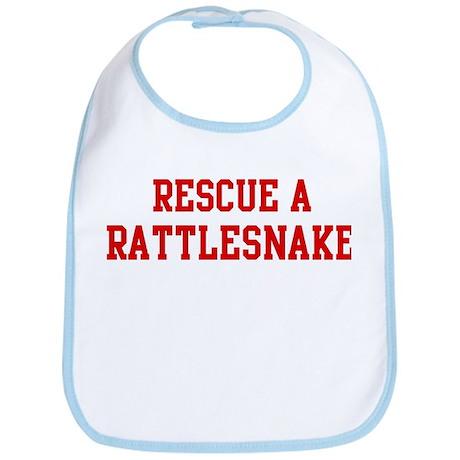 Rescue Rattlesnake Bib