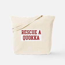 Rescue Quokka Tote Bag
