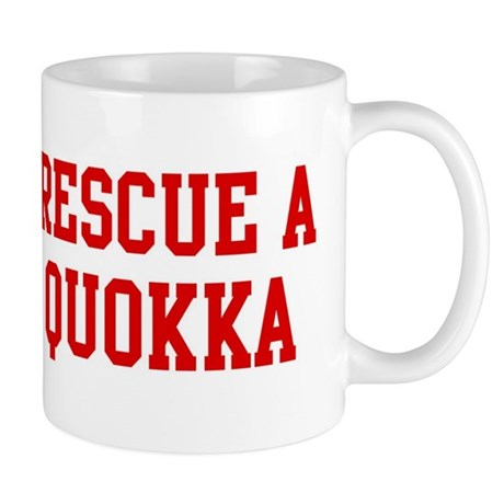 Rescue Quokka Mug