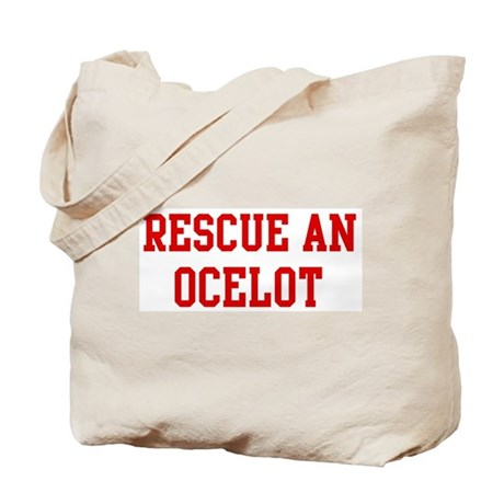 Rescue Ocelot Tote Bag
