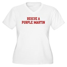 Rescue Purple Martin T-Shirt