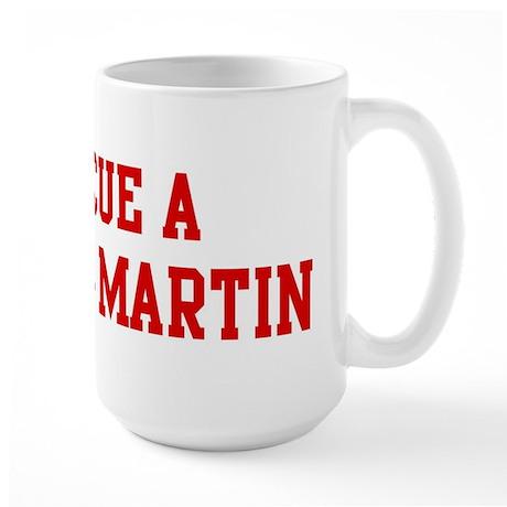 Rescue Purple Martin Large Mug