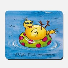 Summer Fun Mousepad by Sophie Turrel