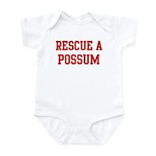 Rescue Possum Infant Bodysuit