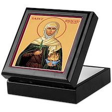 St. Brigid of Ireland Keepsake Box