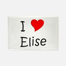 Elise Rectangle Magnet