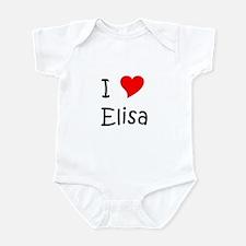 Cute Elisa Infant Bodysuit