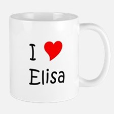 Unique Elisa Mug
