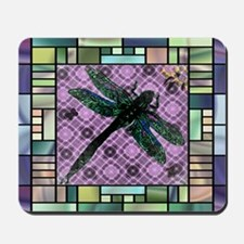 Textured Dragonfly Mousepad