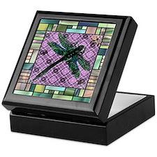 Textured Dragonfly Keepsake Box