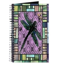 Textured Dragonfly Journal