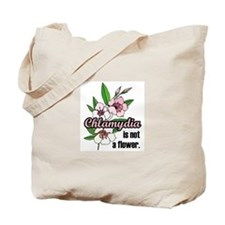 Chlamydia Flower Tote Bag