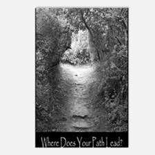 Where Does Your Path Lead? Postcards (Package of 8
