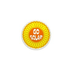 Go Solar Mini Button (100 pack)
