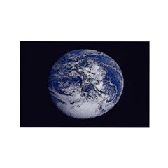 Earth Rectangular Refrigerator Magnet