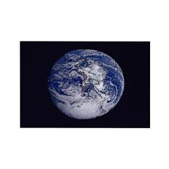 Earth Rectangular Refrigerator Magnet