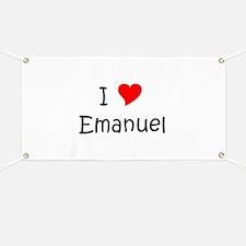Cute Emanuel Banner