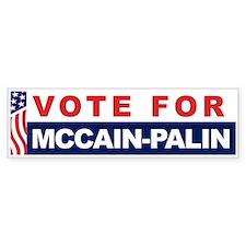 Vote McCain-Palin 08 Bumper Bumper Sticker