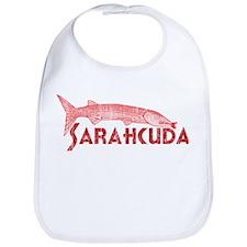 Retro Pink Palin Barracuda Bib