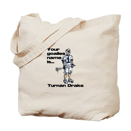 Lacrosse Turn and Rake Tote Bag