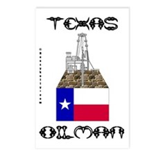 Texas Oilman Postcards (Package of 8)