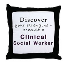 Strengths Perspective Throw Pillow