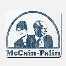 McCain-Palin (faces vintage) Mousepad
