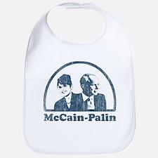 McCain-Palin (faces vintage) Bib