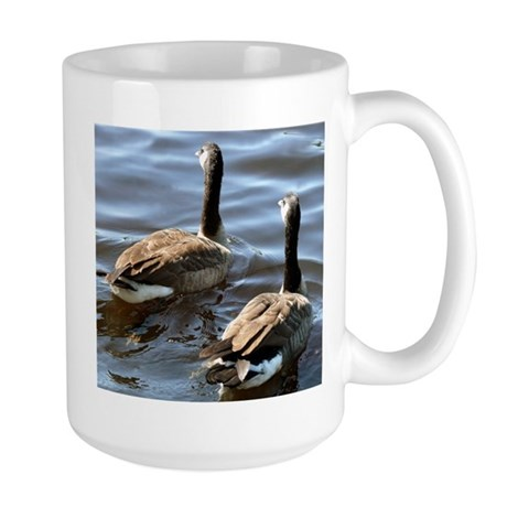 Mix and Match Products Geese Large Mug