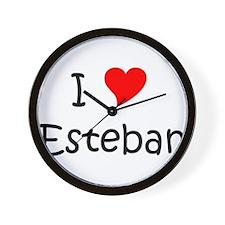 Cute Esteban Wall Clock