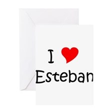 Unique Esteban Greeting Card