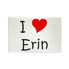 Erin name Rectangle Magnet