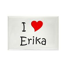 Cool Erika Rectangle Magnet